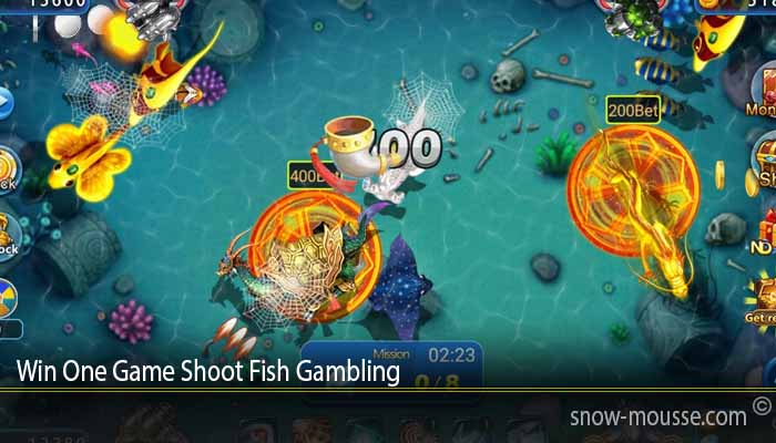 Win One Game Shoot Fish Gambling